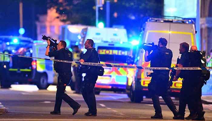 London Bridge Attack, on June 3, 2017.